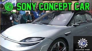 Clutch This Sony Concept Car at CES 2020