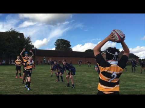 The Oratory School U-14 Rugby  2016-17