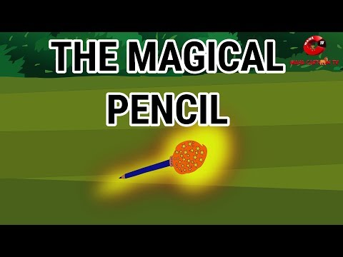 The Magical Pencil | Moral Stories for Kids in English | English Cartoon | Maha Cartoon TV English