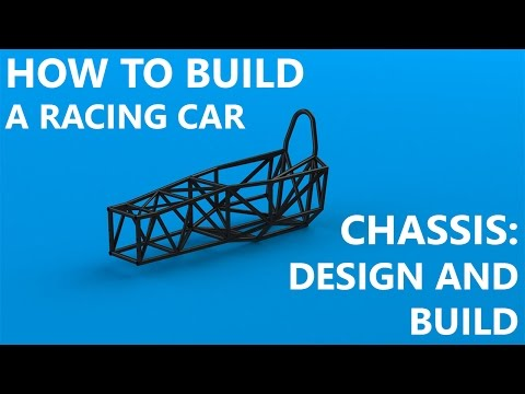 [HTBARC] Chassis Part 1: Design and Frame Build