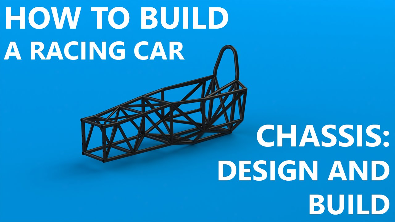 Chassis part 1 design and frame build youtube for Build a house online free