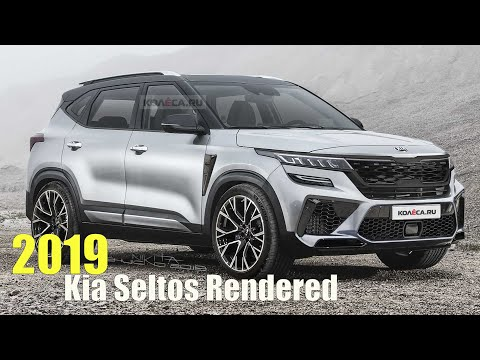 2019 Kia Seltos Rendered