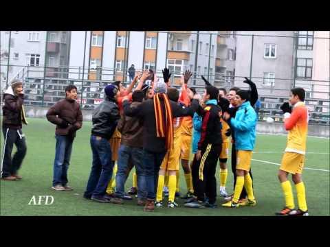 22 Aralık 2012 Kocasinan Site - Şirinevler U17 penaltı golü, şampiyonluk sevinci