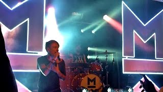 Mallory Knox - Intro + Shout at the Moon LIVE