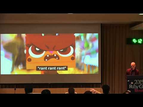 RubyConf Taiwan 2015-Day2 R2 03 Ted Johansson:Beyond the MVC   An Object Taxonomy for Rails