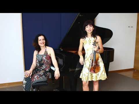 Janáček Violin Sonata - Teodora Sorokow & Ruzha Semova