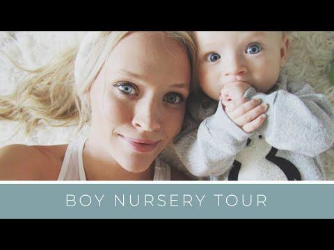 BABY: Nursery Tour   Montessori Inspired   Boy Nursery