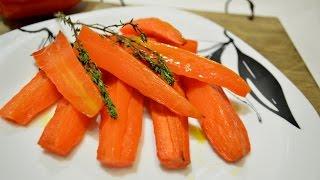 МОРКОВЬ ПЕЧЁНАЯ. Морковь запеченная в духовке. Рецепт моркови. Рецепт для похудения.