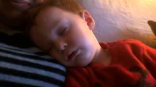 Toddler snoring like old man