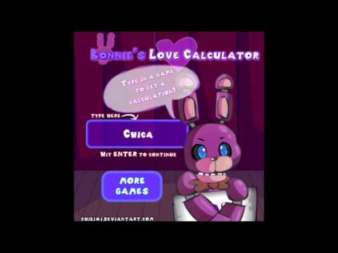 Bonnies Love Calculator