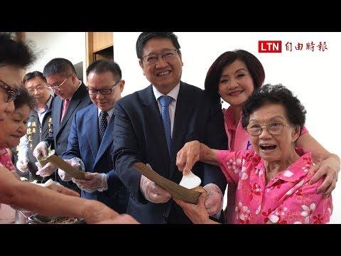 新竹縣議會總質詢 婆婆媽媽「包粽隊」到場