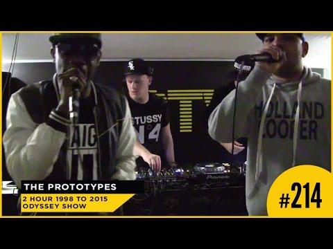 D&BTV Live #214 The Prototypes present Odyssey - Skibadee & Eksman Pt.1
