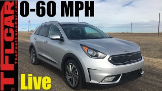 Live! 2017 Kia  Niro 0-60 MPH Review: How Fast is the Niro?
