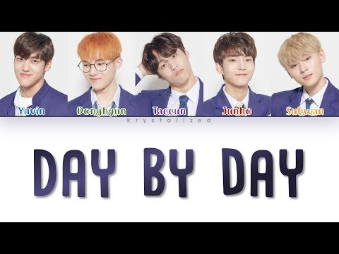 Free Download Produce X 101 - ♬day By Day (by. Wanna One) (color Coded Han/rom/eng Lyrics) Mp3 dan Mp4