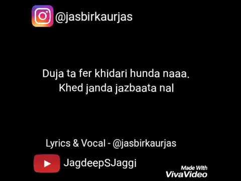 Pyar Ik Makhaul   Jasbir Kaur Jas   Whatsapp Status Punjabi