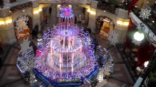 фонтан ГУМа Главный удачный магазин ч.3 предновогодний(, 2013-12-21T23:26:41.000Z)