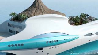 Luxury Tropical Island Yacht Concept   A Private Paradise [HD]