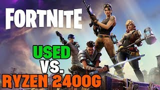 Can a Cheap Used PC Outperform the Ryzen 2400G in Fortnite?