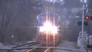 The Amtrak Crescent #20 With Viewliner Diner & Awesome Crew! Austell,Ga 03-23-2013© (16x9)
