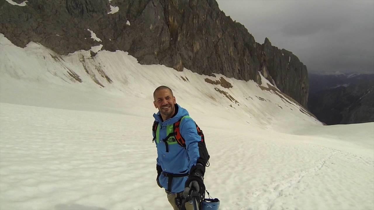 Klettersteig Zugspitze : Zugspitze höllental klettersteig gopro juni youtube