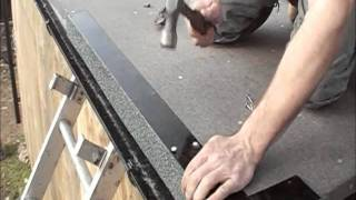 New Flat Roof Installation In England