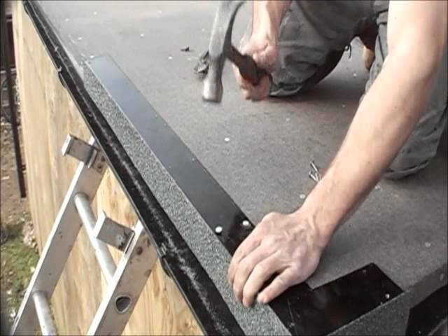 New Flat Roof Installation In England Youtube