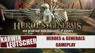 Heroes & Generals, Infantry K98 gameplay!