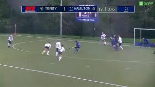 Trinity Field Hockey v. Hamilton Highlights ~ 10/27/18 (NESCAC Quarterfinals)