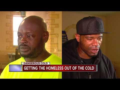 Dangerous weather threaten Detroit's homeless
