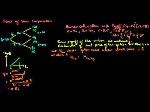 European Barrier Option Pricing: 2 Period Binomial Tree Model