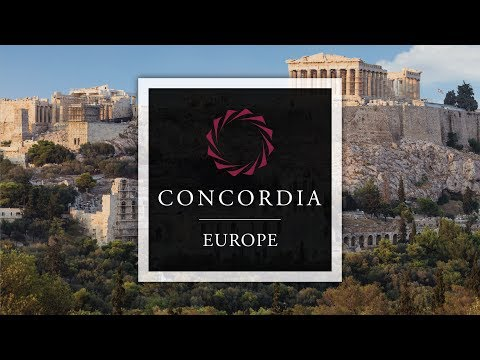 Concordia Europe Summit in Athens Day 1