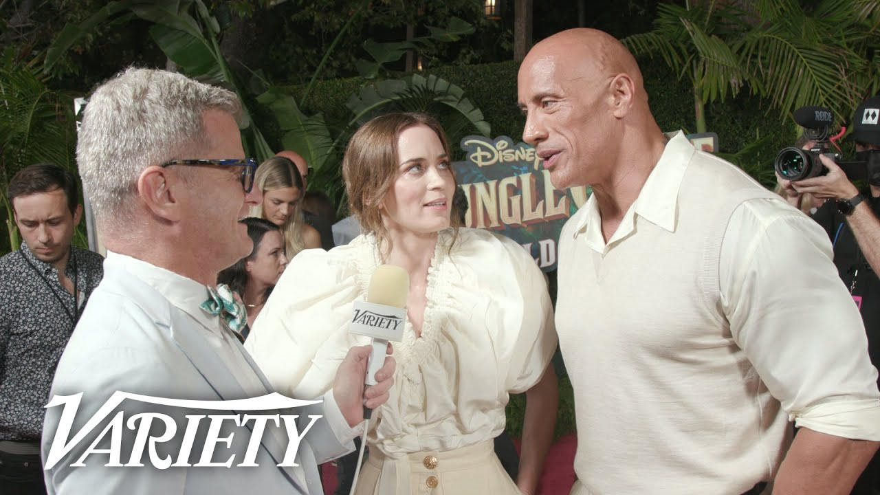 The Cast of Disney's 'Jungle Cruise' Talk Turning The Iconic Ride Into a Film!
