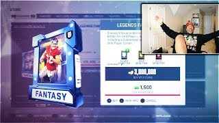 ANOTHER FULL LEGEND! THE 3 MILLION COIN PACK AND PLAY! MADDEN 19