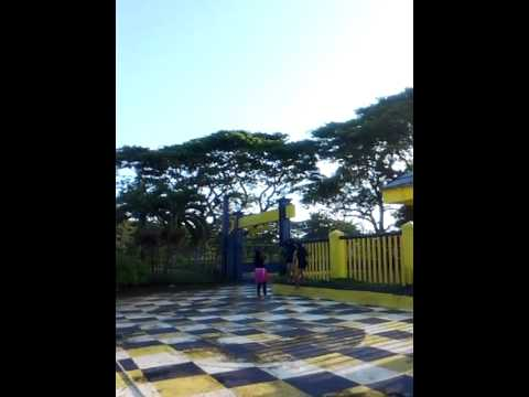 promoting the blue beach resort at golp zamboanga city
