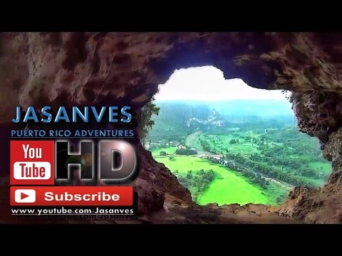 Awesome View in Window Cave (Cueva Ventana), Arecibo, Puerto Rico