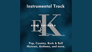 No Regrets (Instrumental Track With Background Vocals) (Karaoke in the style of The Walker...