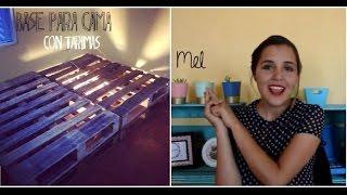 Haz tu base de cama con tarimas-palets- Melina Sandoval
