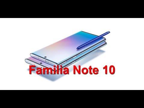 Primeras impresiones acerca de la familia Note 10!