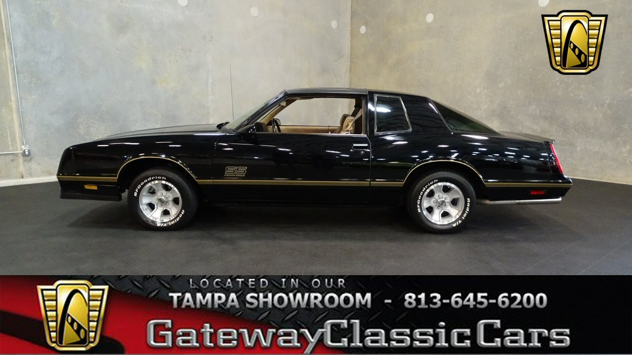 All Chevy 1987 chevrolet monte carlo ss : 1987 Chevrolet Monte Carlo SS Aerocoupe 547-TPA - YouTube