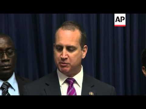 Florida Republican Congressional members gathered ahead of the President