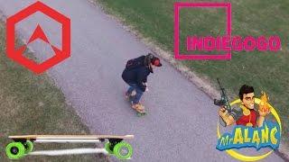 Bebop 2 Follow Me Mode Films Acton Blink S Electric Skateboard Ride