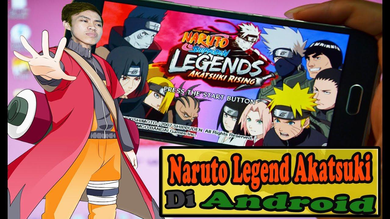 Cara Download dan Instal game Naruto Shippuden Legend ...