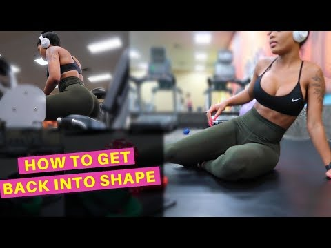 HOW TO GET BACK INTO SHAPE | EASY BEGINNERS WORKOUT
