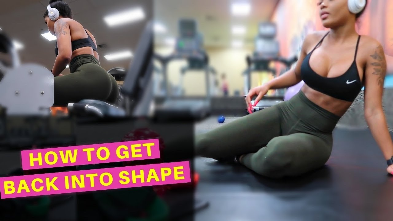 HOW TO GET BACK INTO SHAPE | EASY BEGINNERS WORKOUT – SAM's