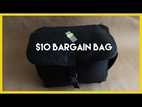 Save Money on Photography Gear!  $10 Bargain Bag!