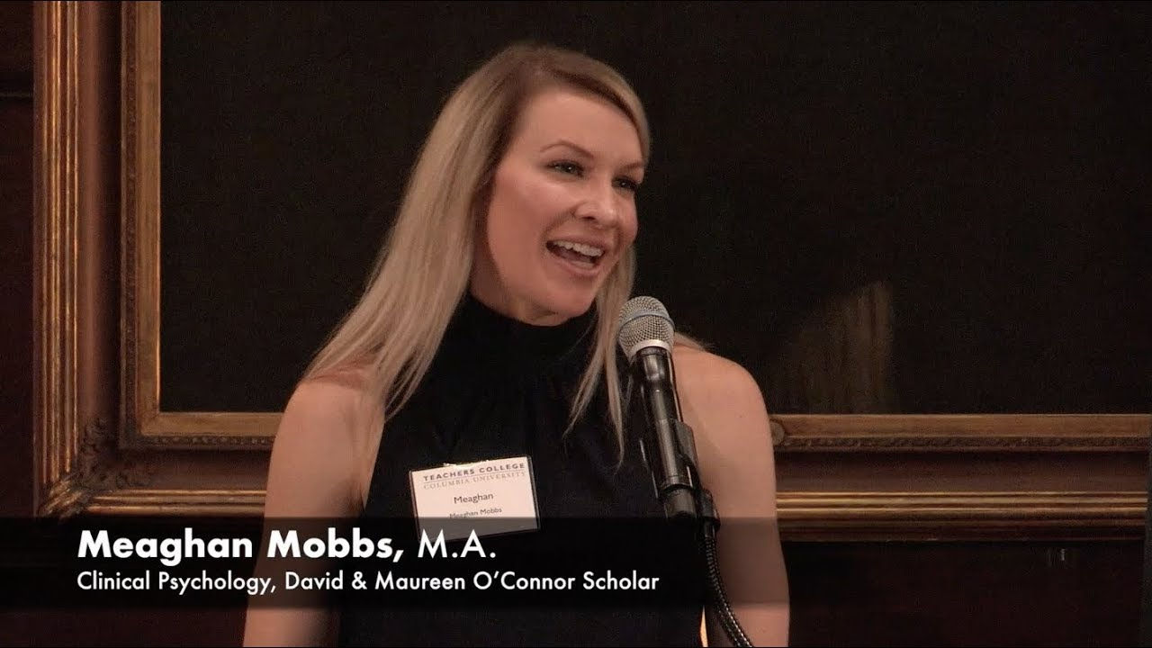 2018 Grace Dodge Luncheon: Meaghan Mobbs - YouTube