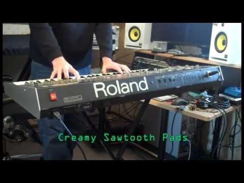 Roland Jupiter-6 Signature Sounds