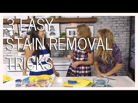 Fabric Care And Stain Removal Tricks (Your Morning)