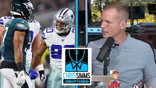 Game Review: Eagles defense vs. Cowboys offense Week 7 | Chris Simms Unbuttoned | NBC Sports