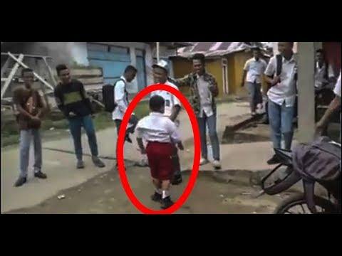 Anak STM Jahil, Akibatnya Ditantang Bocah Sekolah Dasar